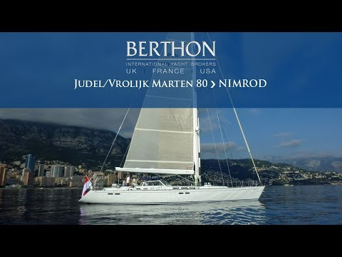 Judel/Vrolijk Marten 80 (NIMROD) Walkthrough - Yacht for Sale - Berthon International Yacht Brokers