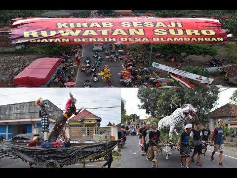 Karnaval Kirab Sesaji Ruwatan Suro Blambangan Banyuwangi Muncar