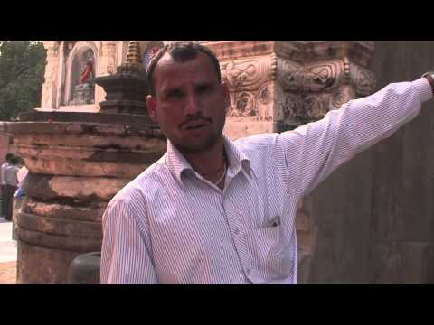 Bodh Gaya, India where the Buddha achieved enlightenment - Part 1 of 3
