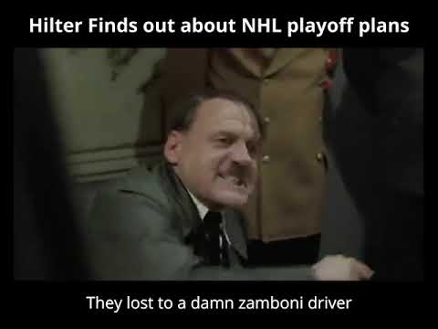 Hitler finds out about NHL Playoff Plans
