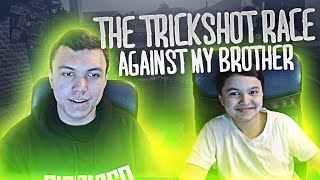 The Trickshot Race Against my Brother #18