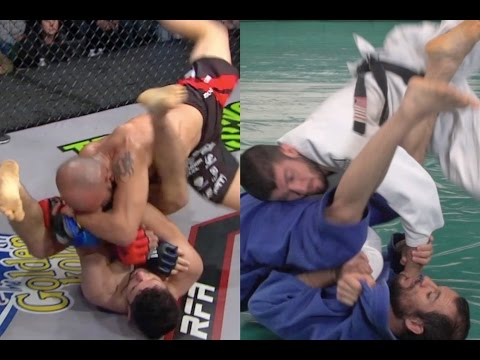 CRAZY Helicopter Armbar in MMA + Helicopter TRIANGLE! (Gracie Breakdown)