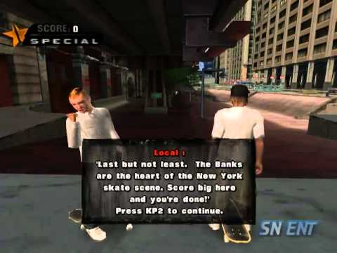 Tony Hawk Underground: Manhattan (Part 1)