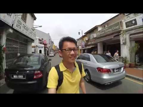 Geographer Cafe Malacca Melaka Malaysia - 1 hour trip at Malacca Malaysia 马六甲1小时旅游