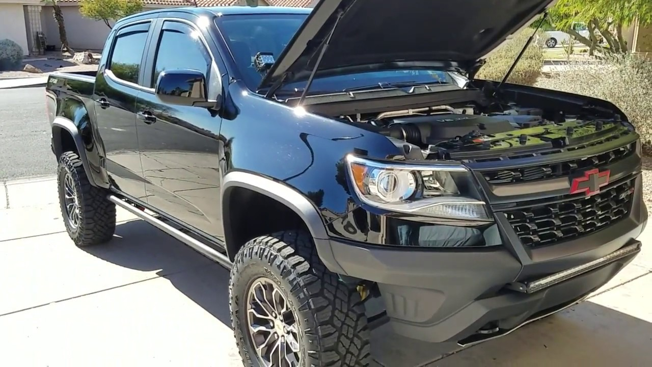 My Lifted 2017 Chevy Colorado Zr2 Overview Review