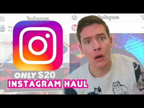 BUYING THE FIRST 5 THINGS INSTAGRAM RECOMMENDED TO ME