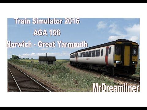 Train Simulator 2016 | AGA 156 | Norwich - Great Yarmouth