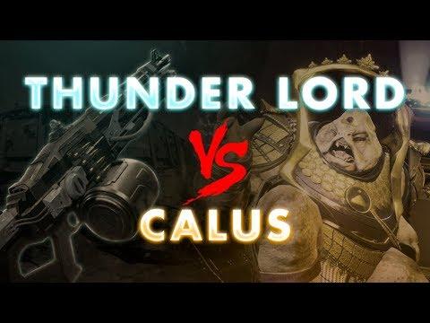 Thunderlord vs. Calus   Destiny 2 thumbnail
