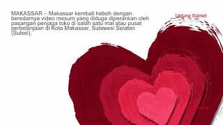 HEBOH!  Mesum Penjaga Toko di Mal Gegerkan Makassar