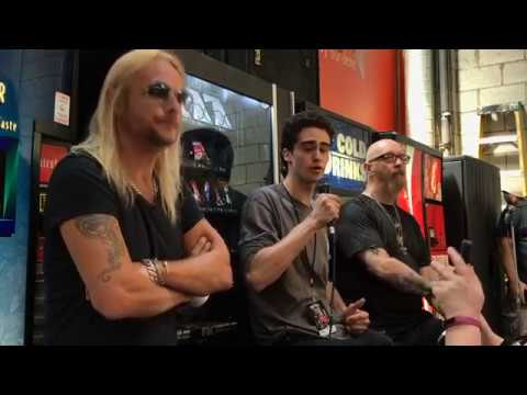 JUDAS PRIEST - Rob Halford and Ritchie Faulkner talk about FIREPOWER and more!