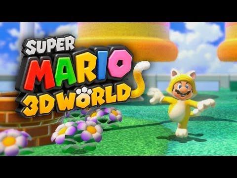 SUPER MARIO 3D WORLD #1 - O Início: Gameplay Com Mario E Luigi! Jogo Espetacular!