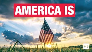 AMERICA IS... - A Stats Based 4th of July Tribute