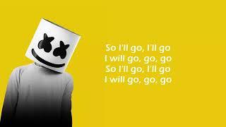 Marshmello ft. Bastille - Happier - lyrics [ Official Song ] Lyrics / lyrics video