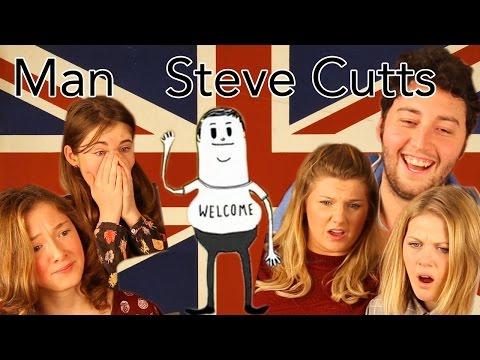 Man, Steve Cutts Reaction - Head Spread
