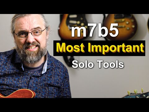 The Most Important Solo Tools For a Half Diminished Chord