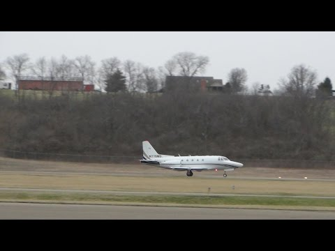3/23/15 North American Sabreliner takes off