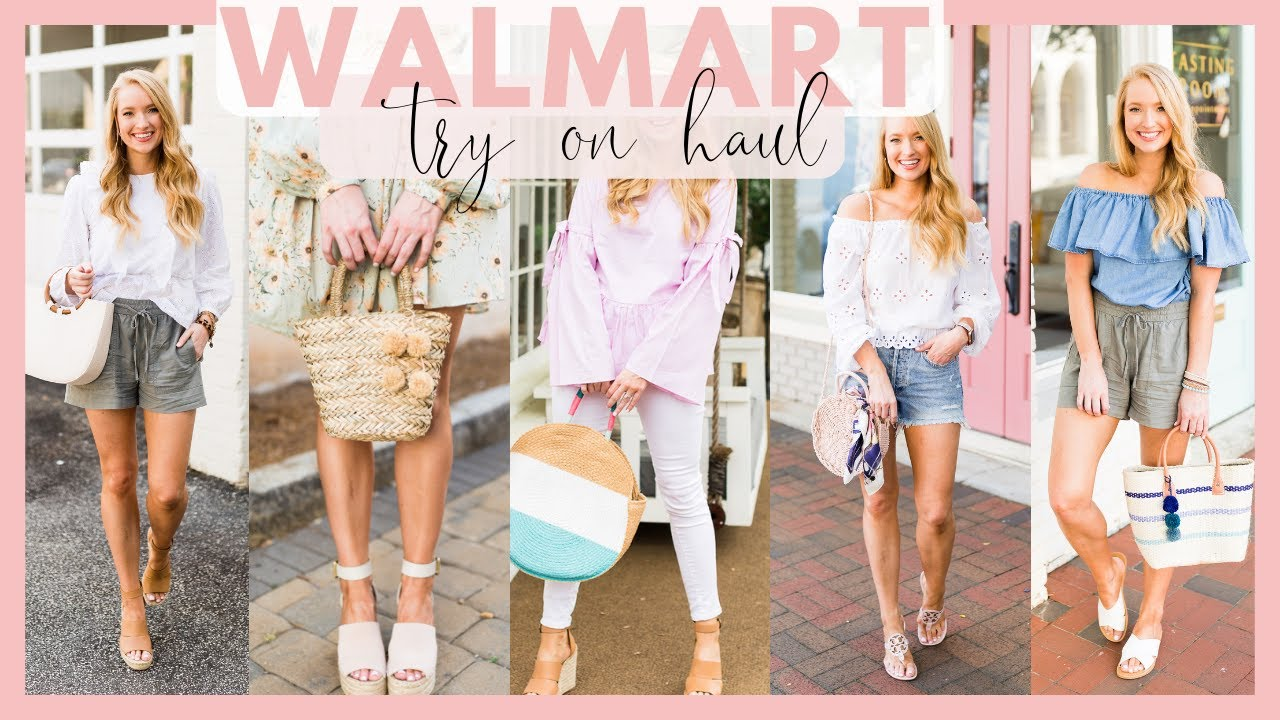[VIDEO] - SUMMER MUST HAVES FROM WALMART | WALMART CLOTHING TRY ON HAUL SUMMER OUTFITS 2019 | Amanda John 3