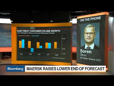 Maersk CEO on Rising Freight Rates, Profit Forecast, Divestments