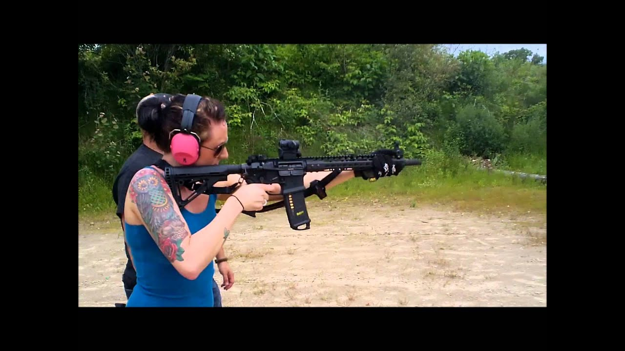 Shooting the Noveske Gen2 w/ Battle Comp 1 5
