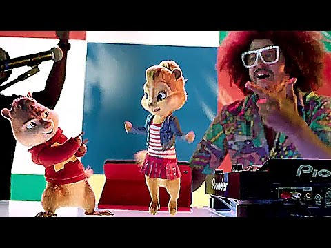 Alvin et les Chipmunks 4 :  la chanson JUICY WIGGLE (Redfoo)