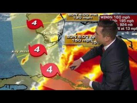 Models predict Irma will run up Florida's Gulf Coast