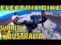 Electric Bike off-road session with Bafang BBSHD 1000w mid-drive motor on Road Bike