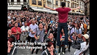 TOP 5 Dynamo Magician  Best Performs Demon Magic Trick Revealed  ( new 2019)