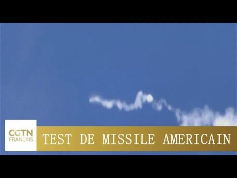 Le Pentagone réussit un test du système de défense ICBM pour la première fois