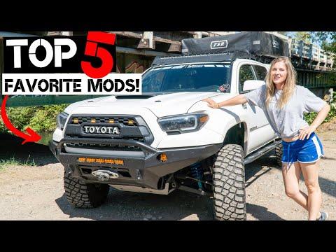 Top Five Toyota Tacoma Mods!