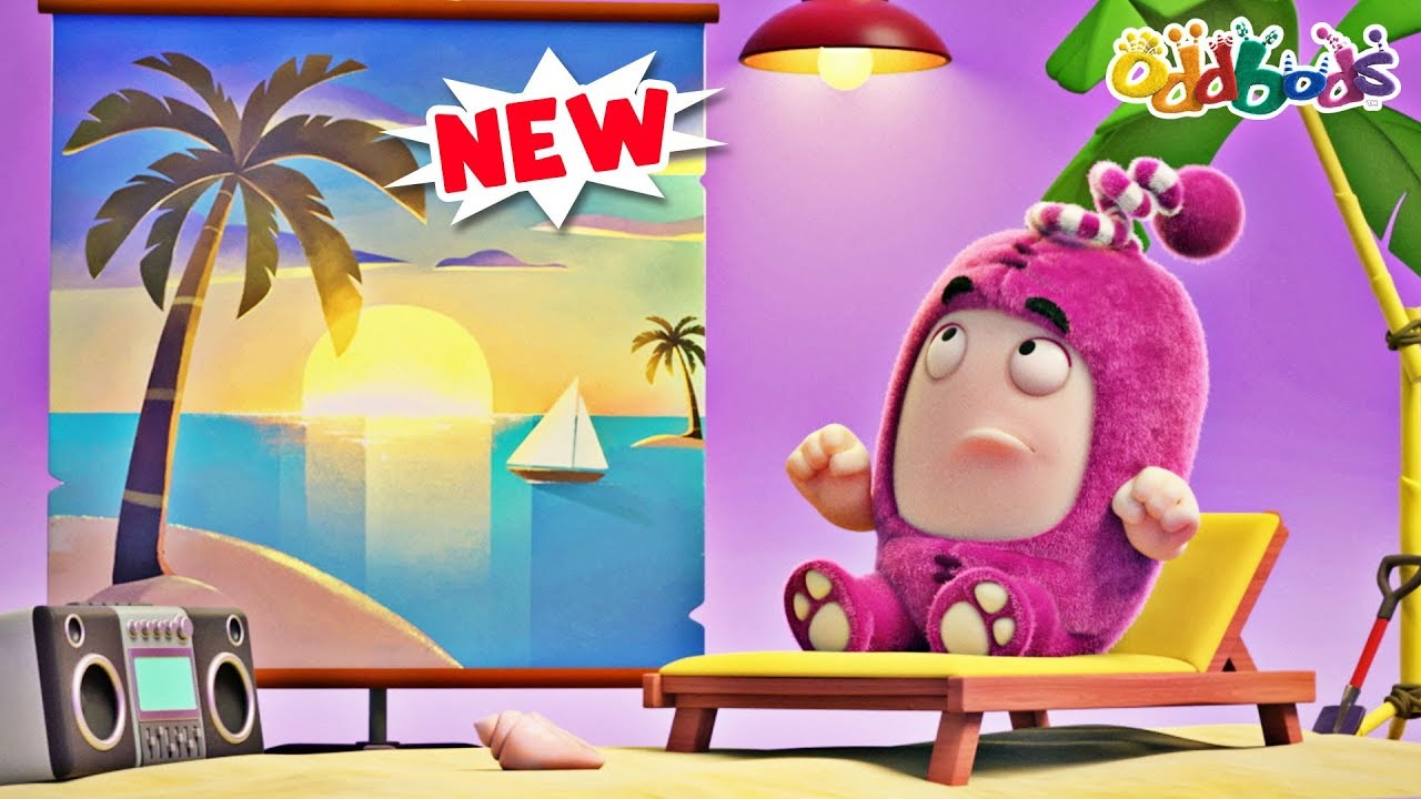 Oddbods | Sun Block | SUMMER Cartoons For Children