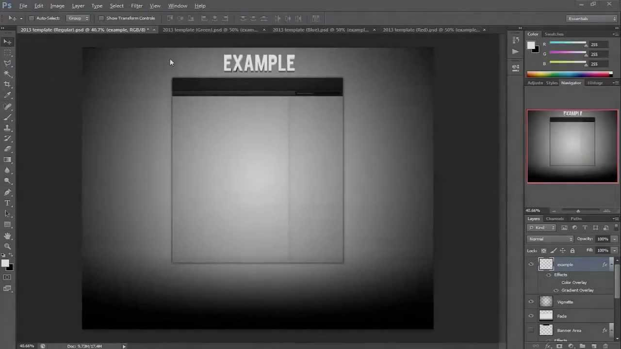 partner youtube layout template 2012 2013 psd png youtube