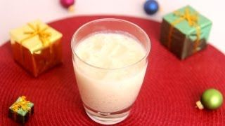 Homemade Eggnog Recipe- Laura Vitale - Laura In The Kitchen Episode 510