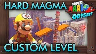 Insanely Hard Magma Custom Level - Super Mario Odyssey Maker