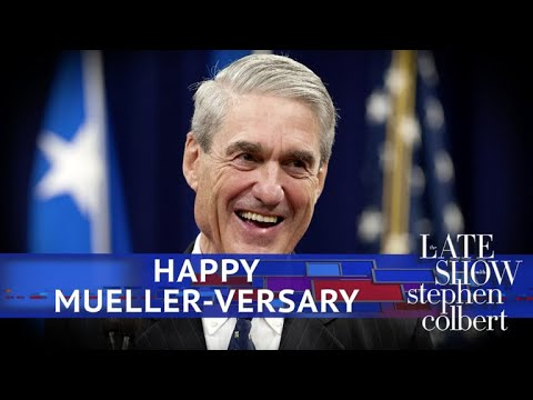 Mueller's Anniversary Gift For The President