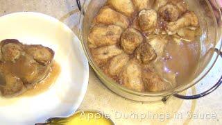 Apple Dumplings In Sauce Cheekyricho Video Recipe Episode 1,012