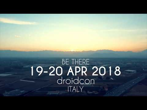 Droidcon Italy 2018 arrives in Turin