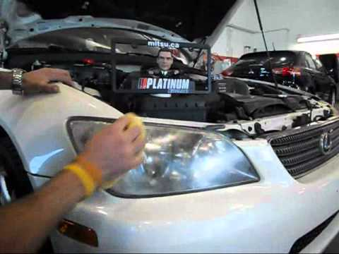 04 lexus is300 headlight removal