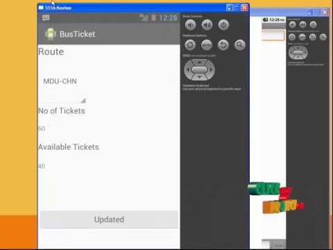 Final Year Projects | Bus reservation system in android