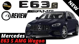 Mercedes Benz AMG E63 S Wagon 2021 - Test Drive & Review (4K)