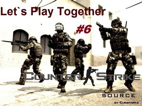 Let`s Play Together Counter-Strike: Source - Finn der Assi! #6 (HD/HQ)