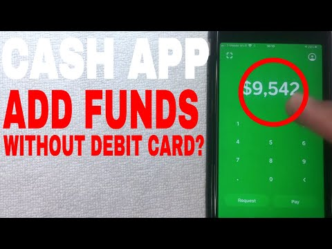 ✅  How To Add Money Funds To Cash App Without Debit Card 🔴