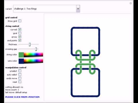 Wire-and-String Puzzles