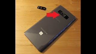 Sasmsung NOTE 8  * How to replace CAMERA GLASS