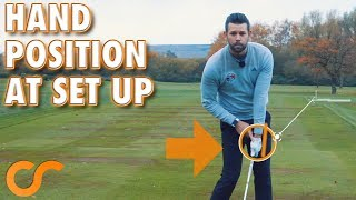 WHERE TO POSITION YOUR HANDS AT SET UP