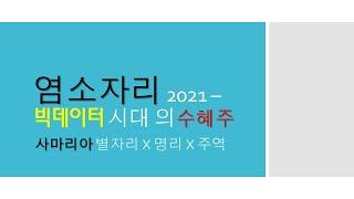 #염소자리 2021 - #빅데이터 시대 #수혜주