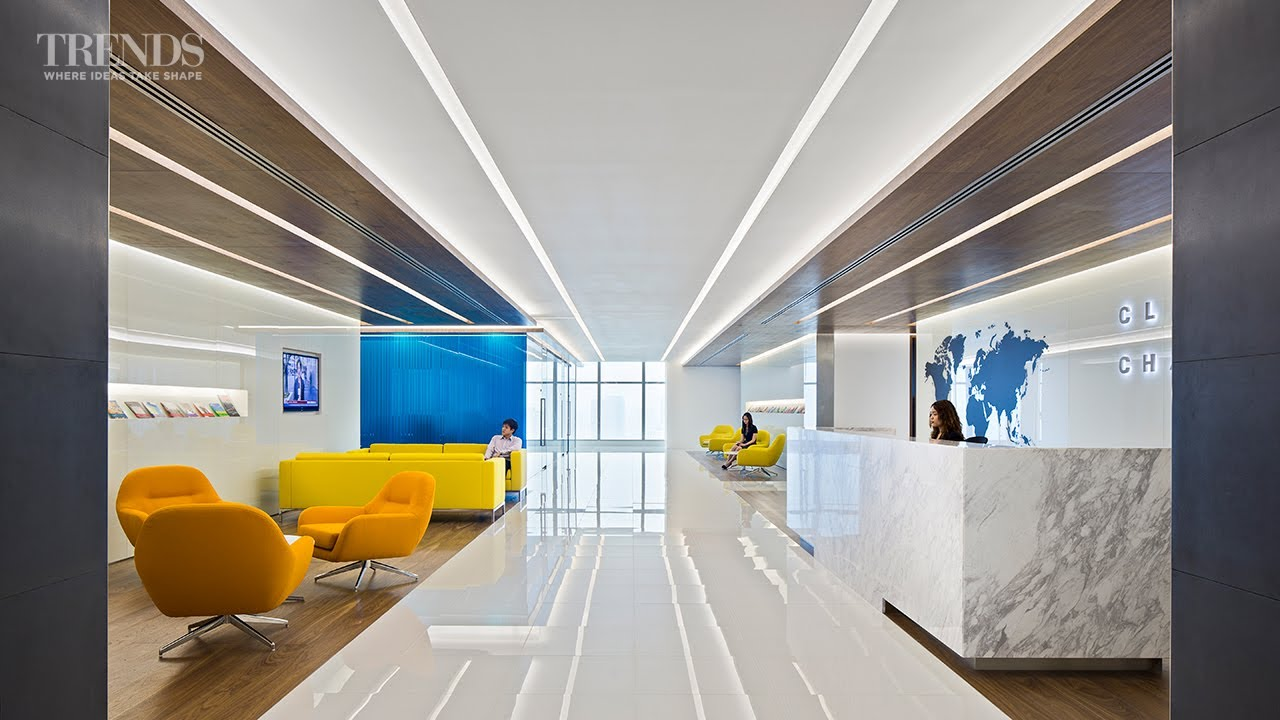 contemporary office fit out for the singapore office of a global law