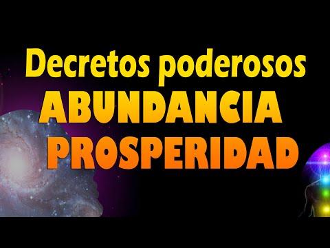 Decretos de prosperidad y abundancia    Afirmaciones   Metafísica  