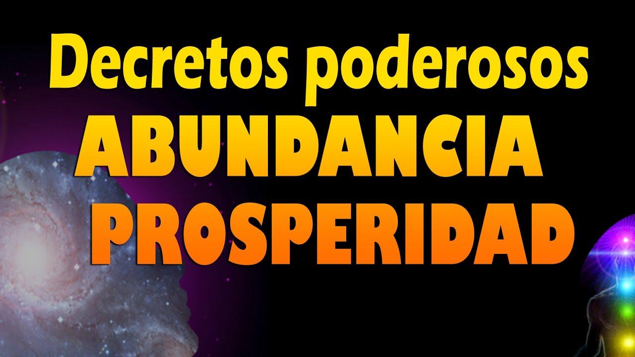 Decretos De Prosperidad Y Abundancia