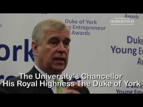 The Duke of York Young Entrepreneur Awards 2017 - University of Huddersfield