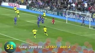 Lionel Messi - 100 Best Goals  [Part 2 - 3] ligasampiona.rs